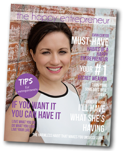 Evan Center featured in Happy Entrepreneur Magazine